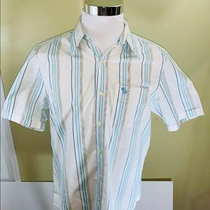 Abercrombie & Fitch Muscle Button Up Dress Shirt
